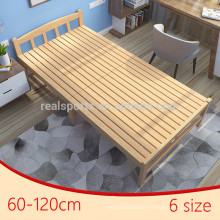 New Style Wood Platform Bed Frames Camp Bed Folding