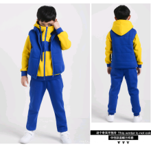 NEW WINTER WARM STYLE BOYS THREE PCS STYLE CLOTHING SETS