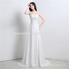 2017 длина пола высокая шея видеть сквозь кружевной линии свадебное платье 2016 с длинным рукавом
