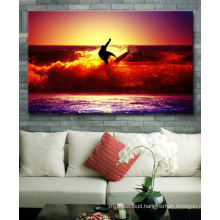 Surfing Canvas Wall Art Beach