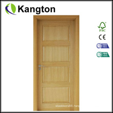 Oak Wood Interior Classic Deisgn Door (wood door)