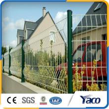 Clôture de route enduite de PVC