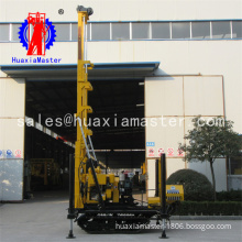 Crawler type drilling rig for water well / 200m Water well drilling machinery
