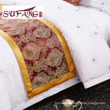High Quality Hotel Bedding Linen Supplier 100 cotton print bedding sets 60s 300TC fashion design luxury