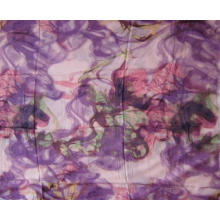 10% Кашемир 90% Модальная печать Фиолетовый