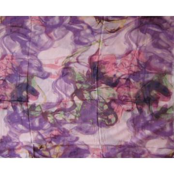 10% Cashmere 90% Modal Print Purple