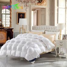 Duck down / goose down alternativa hotel em casa 100% algodão downproof tecido de ganso qulit