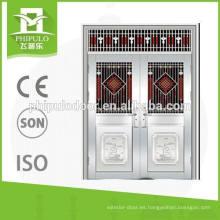 2016 la mejor puerta doble del acero inoxidable 304 de la calidad de Yongkang