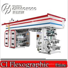 Máquina de impresión flexográfica de papel mural
