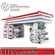 Máquina de impressão flexográfica de papel de parede