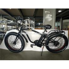 26 Inch Mens Electric Bike Fat Tire 1000W Fat Tire Electric Bike Snow Bicycle Fat Tire Beach Cruiser Electric Bike