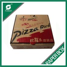 Shanghai-Lieferanten-kundenspezifische vollfarbige Papier-Pizza-Kasten