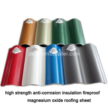 Isolierung Fireroof Roofing Sheet Iron Crown