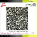 Comum amplamente utilizado alumínio liga CNC couro parafusos e nozes