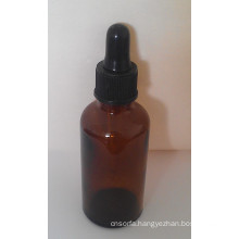5ml Amber Tubular Glass Vial with Dropper
