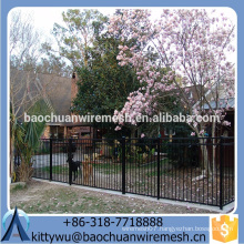 2015 Best price and Best-selling Steel Fence/ Wrought Iron Fence