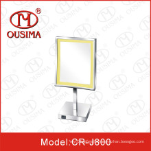 Square Standing Table Makeup LED Mirror