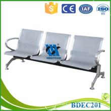 Hospital espera silla marco de metal sillas de la sala de espera