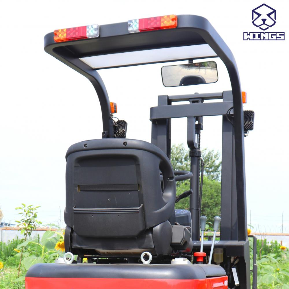 0 8tons Electric Forklift 1