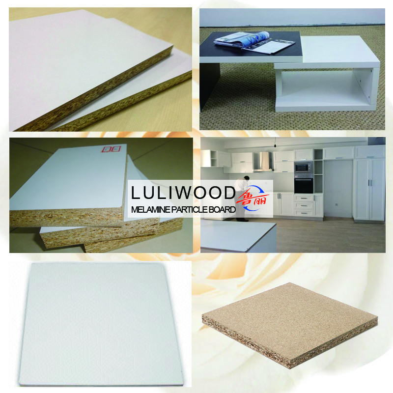 white melamine particle board of luli