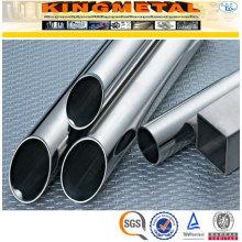 Preço da tubulação sanitária de aço inoxidável soldada de ASTM A270 304