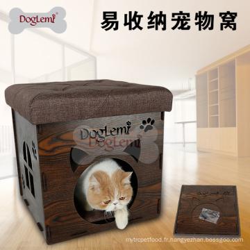 2017 Mode haute qualité luxe moderne pliable maison d'animal familier chaise