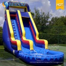 Diapositiva inflable inflable gigante popular de la diapositiva de agua para el adulto