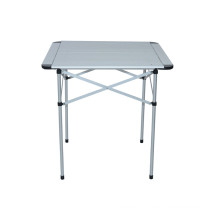 Quality Aluminum Ultralight Picnic Camping Outdoor Portable Folding Table Furniture (QRJ-Z-002)