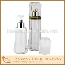 Cosmético, garrafa, diamante, forma, airless, garrafa