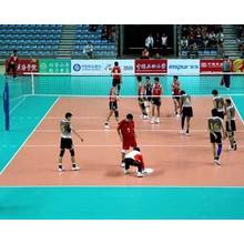 plancher de volleyball amovible à l'intérieur