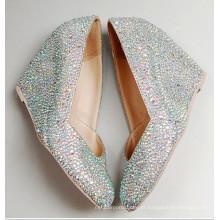 Novo estilo de moda sapatos de salto alto do casamento (HCY02-1506)