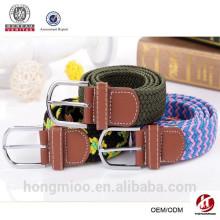 2015 new design women western braided belt