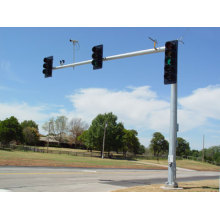 Galvanized 6M Traffic Light Signal Pole