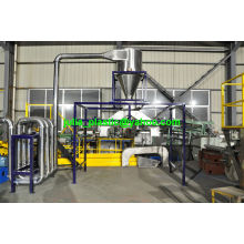 Ligne de réutilisation de lavage de bouteilles de PE avec la diverse capacité