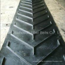 V Shaped Pattern Rubber Conveyor Belt