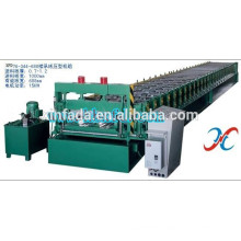 Shaped High Strength Bearing Steel Structure Floor Decking Cold Roll Forming Machine