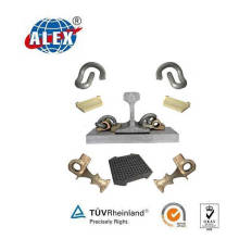 Elastic Railway Clips System for Railroad Construction