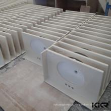 KKR resin stone customized vanity sink