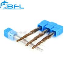 BFL Hartmetallkegel-Kugelkopffräser für den Holzschnitt