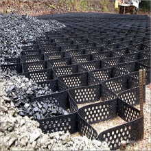 HDPE Geocell Used In Road Construction Low Cost Gravel Stabilizer Grid