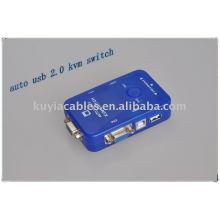 Premium auto USB2.0 KVM switch for computer