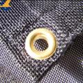 Tela de materia textil casera de malla de lona revestida