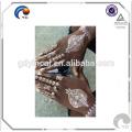 Flash Gold Silver Metallic Temporary Tattoos Sticker Henna Tattoo (Hot sale)