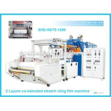 Alta velocidad con capacidad estable de 1 metro de película de estiramiento que hace la máquina de XHD
