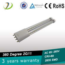 UL listed 2G11 led tube 9W