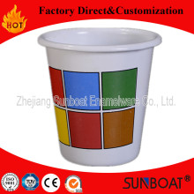 Sunboat Enamel Tumbler Mugs with No Handle Kitchenware