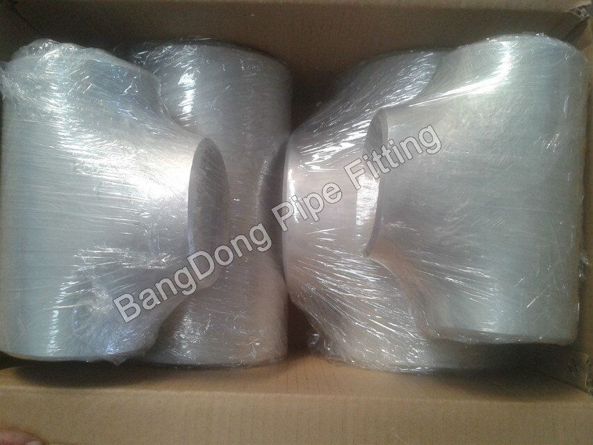 carbon steel equal tee fittings