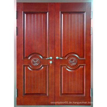 Panel Design Stahl Sicherheit Doppel Tür