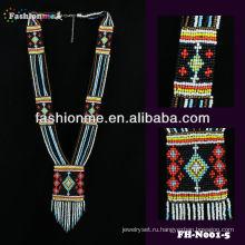 fashionme мелким бисером ожерелье