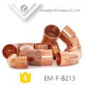 EM-F-B213 Short copper coupling pipe fitting